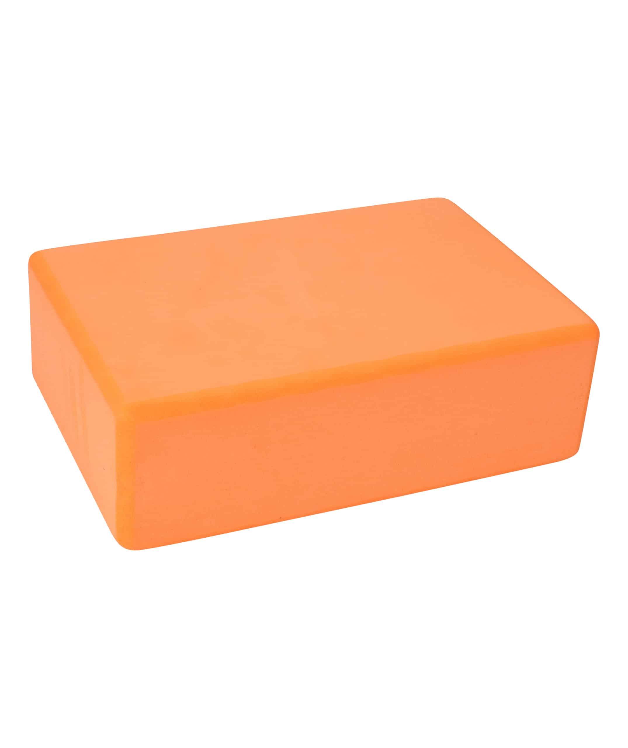 yoga block orange