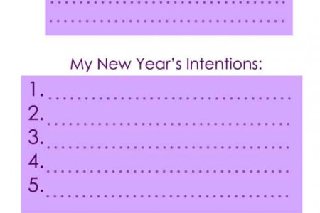 New Years Resolutions - Healthy New Year Promises (The Easy Way)